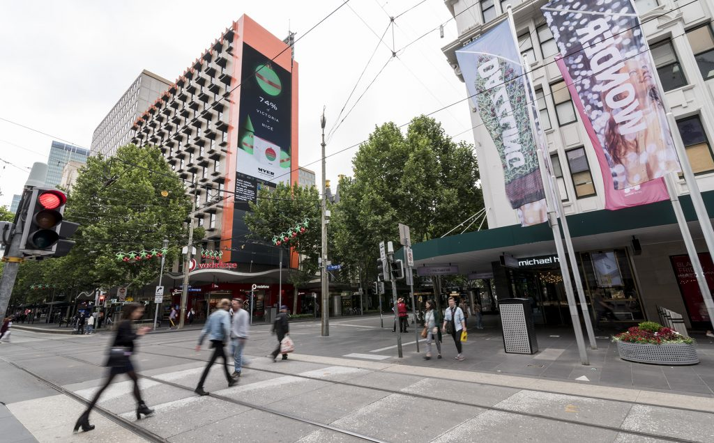 Myer Baubles Billboard Using Real-time User Interaction Data